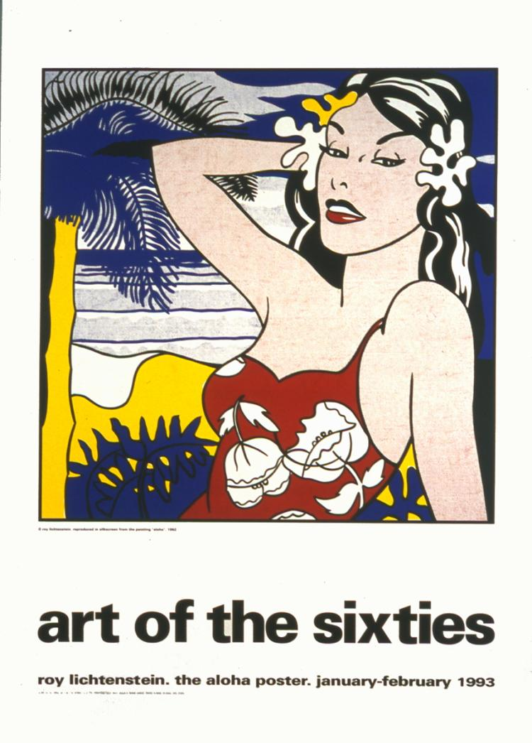 Roy Lichtenstein - Aloha, from Art of the Sixties - 1993