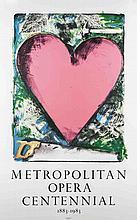 Jim Dine - Pink Heart - 1983