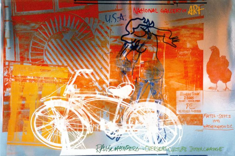 Robert Rauschenberg - Bicycle, National Gallery - 1992