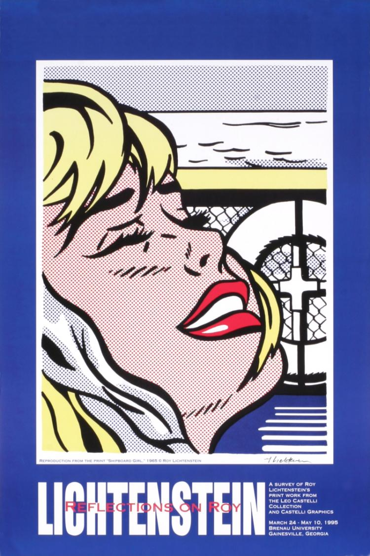 Roy Lichtenstein - Shipboard Girl - 1995