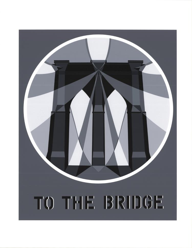 Robert Indiana - To the Bridge (Brooklyn Bridge) - 1997