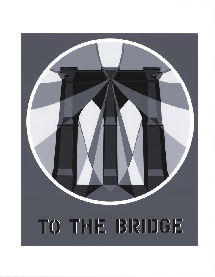 Robert Indiana - To the Bridge (Brooklyn Bridge) - 1997