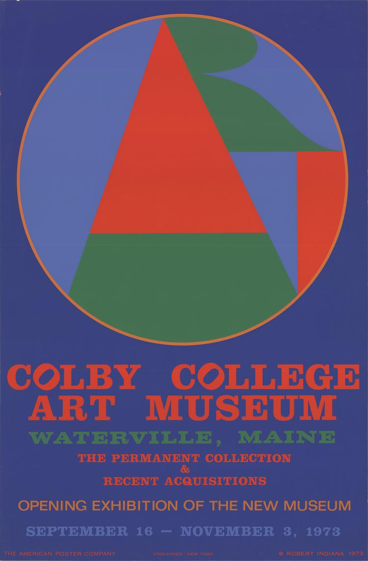 Robert Indiana - Colby College Art Musuem - 1973