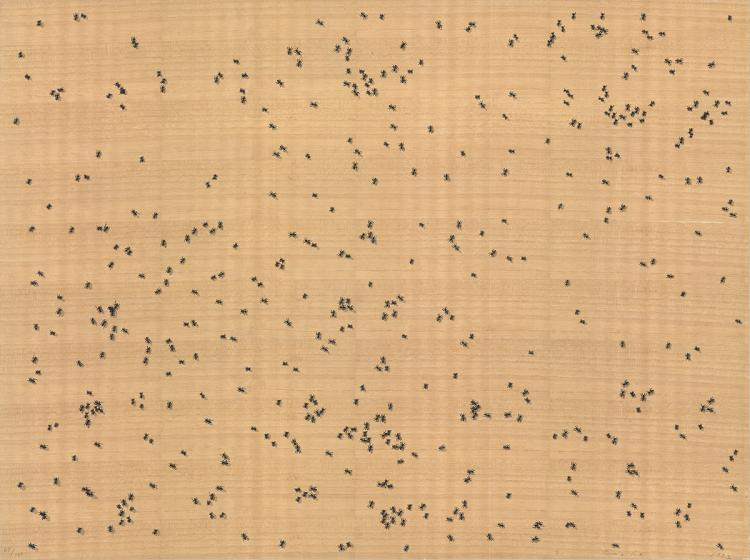 Edward Ruscha - Black Ants - 1992 - SIGNED