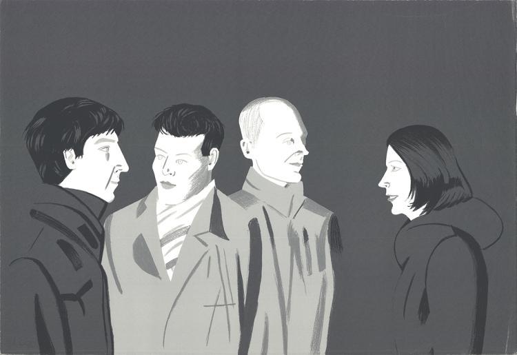 Alex Katz - Unfamiliar Image - 2001 - SIGNED