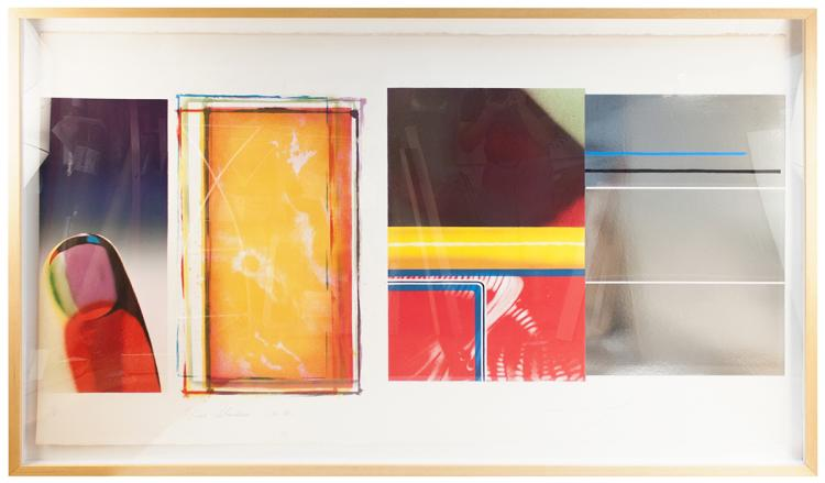 James Rosenquist - Horse Blinders (South) - 1972 - SIGNED