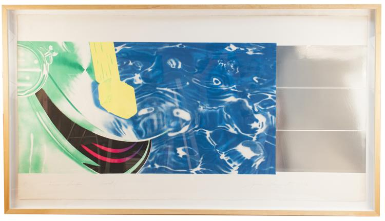James Rosenquist - Horse Blinders (West) - 1972 - SIGNED