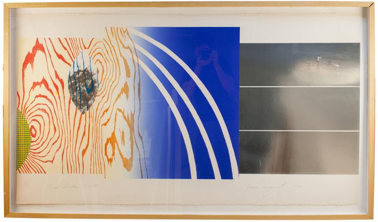 James Rosenquist - Horse Blinders (North) - 1972 - SIGNED