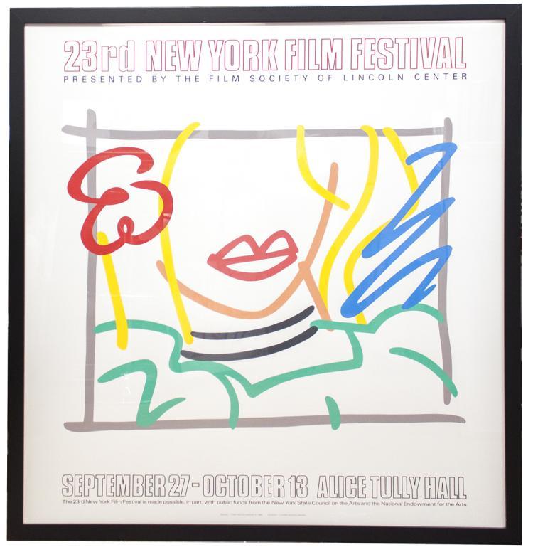 Tom Wesselmann - Monica, 23rd New York Film Festival - 1985