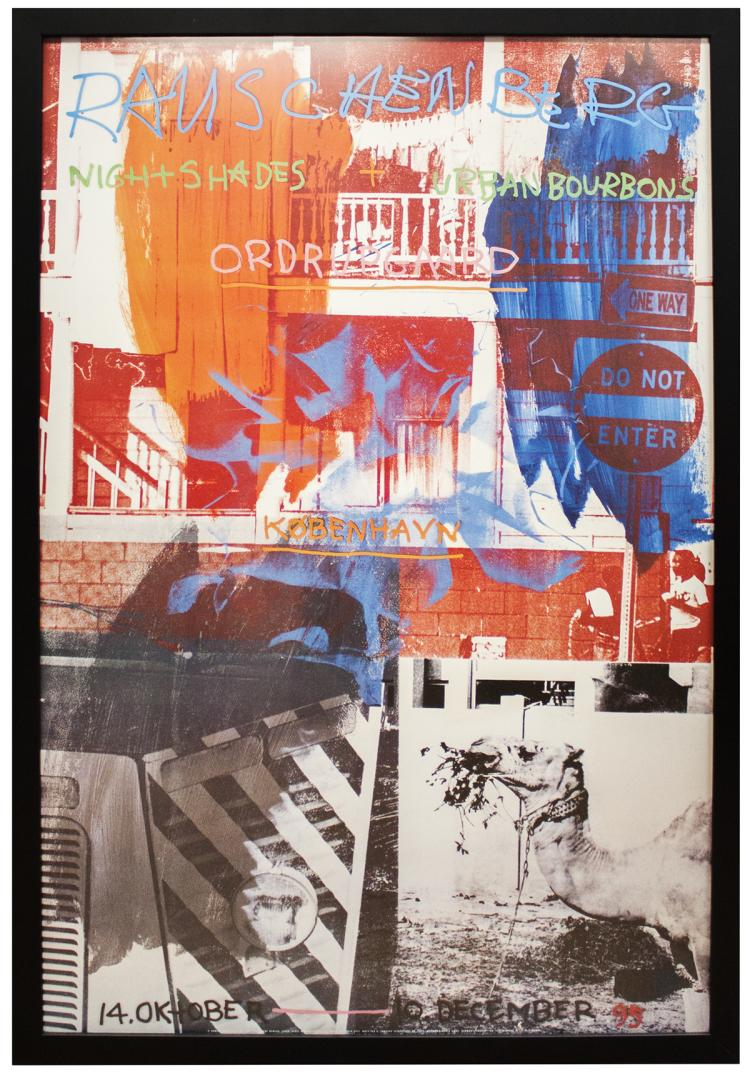 Robert Rauschenberg - Night Shades + Urban Bourbons - 1993