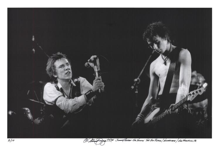 Michael Zigaris - Johnny Rotten - Sid Vicious - SIGNED