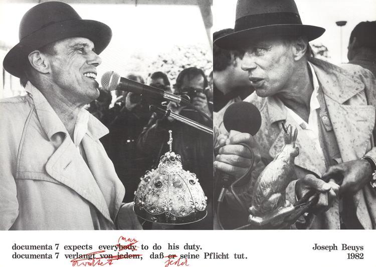 Joseph Beuys - Documenta 7 - 1982