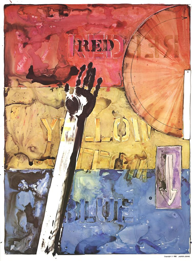 Jasper Johns - American Center Celebration - 1982