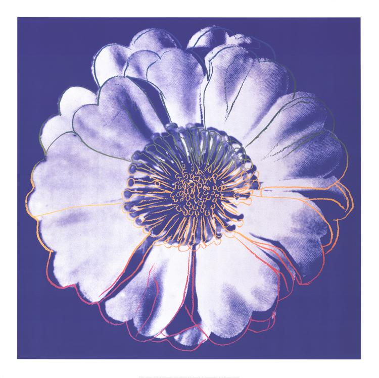 Andy Warhol - Flower for Tacoma Dome (White) - 2003
