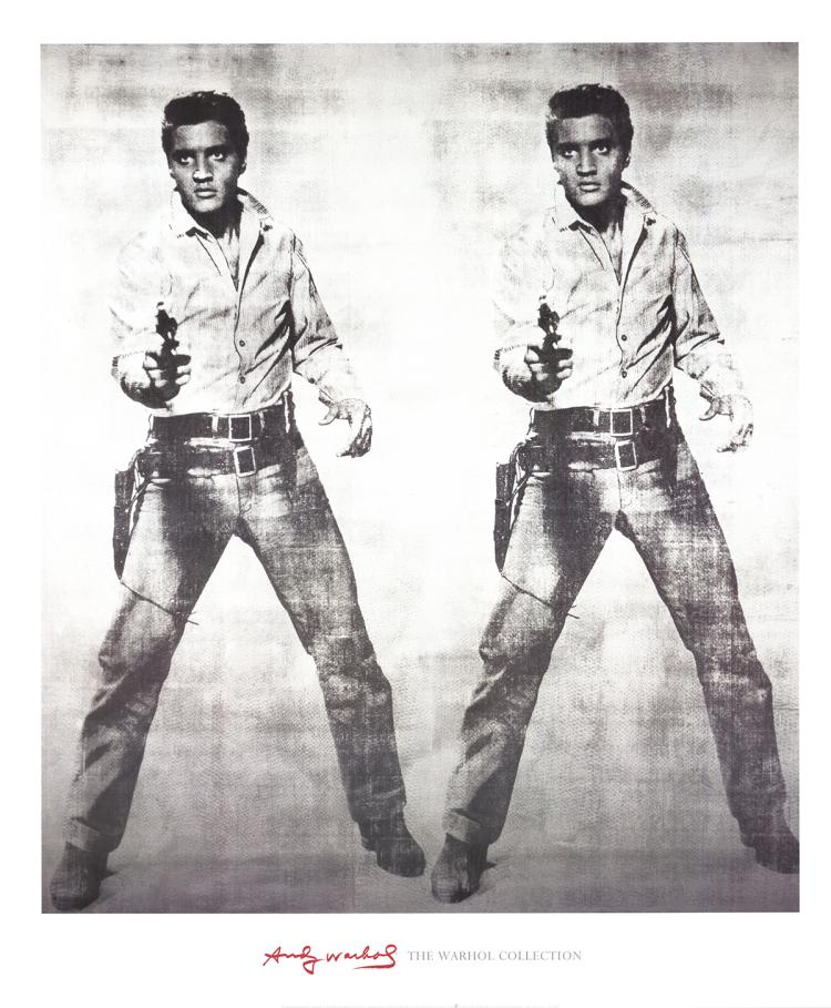 Andy Warhol - Double Elvis - 2003