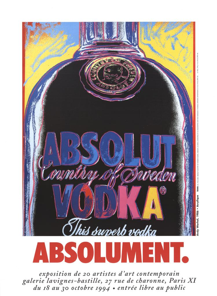 Andy Warhol - Absolut Vodka - 1994