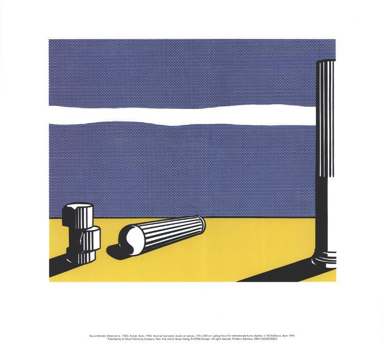 Roy Lichtenstein - Ruins