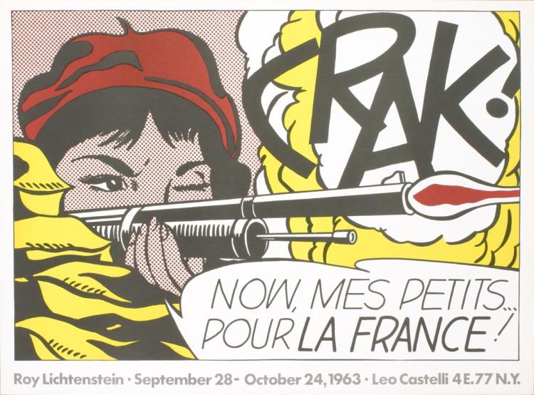 Roy Lichtenstein - Crak! - 1963