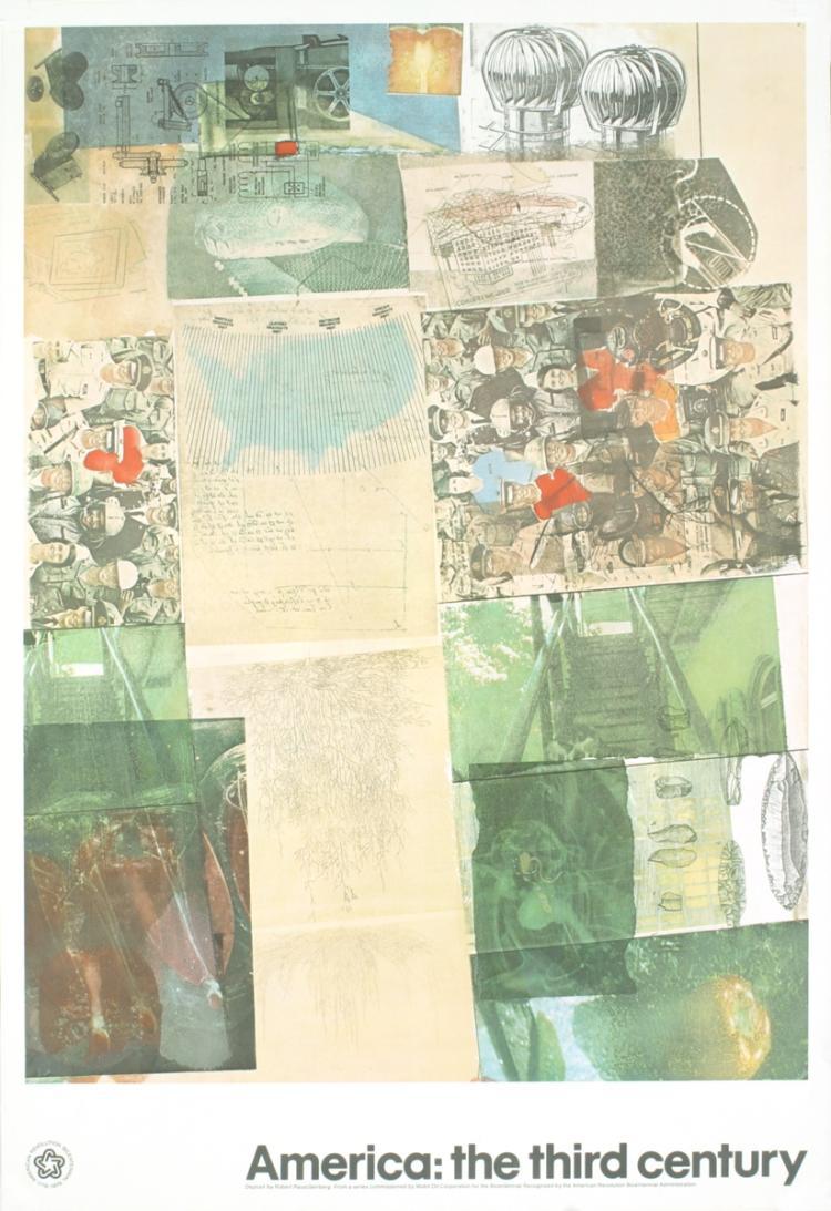 Robert Rauschenberg - Deposit - 1976