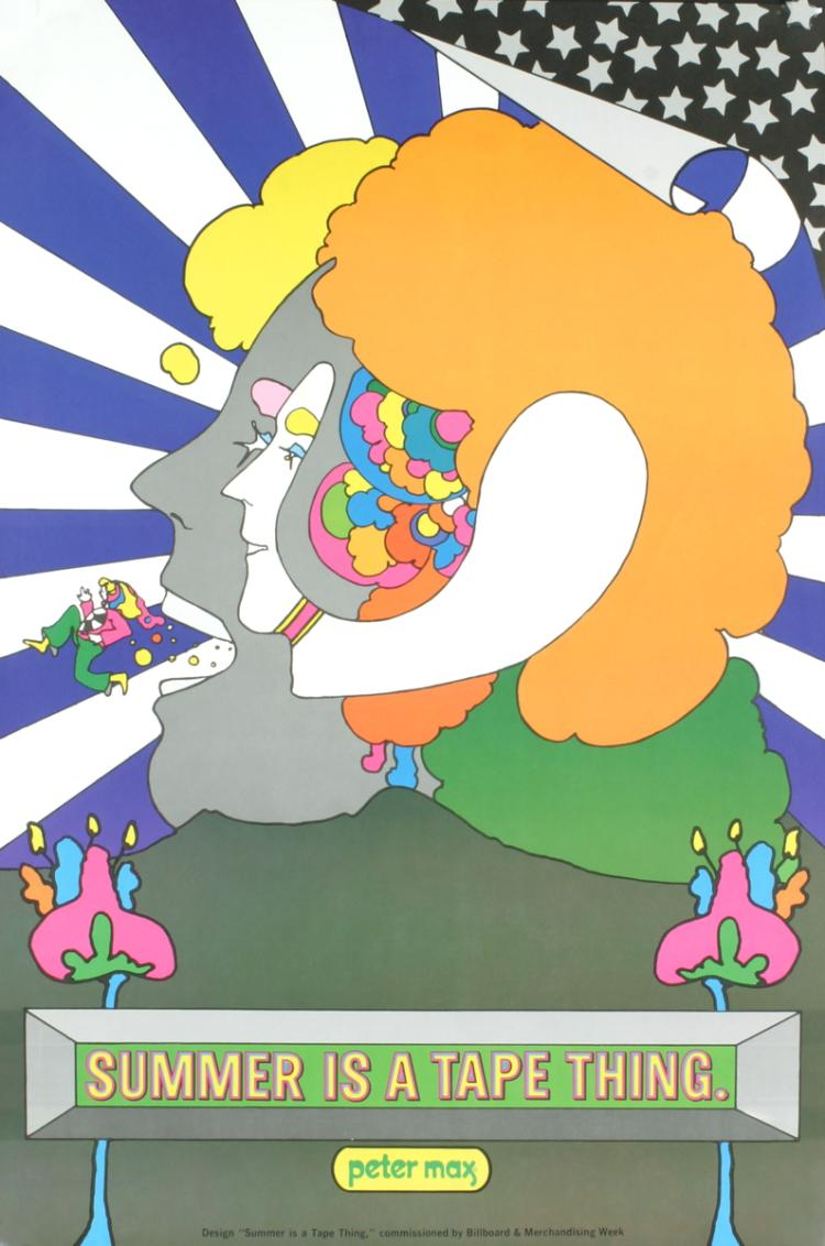 Peter Max - Summer is a Tape Thing