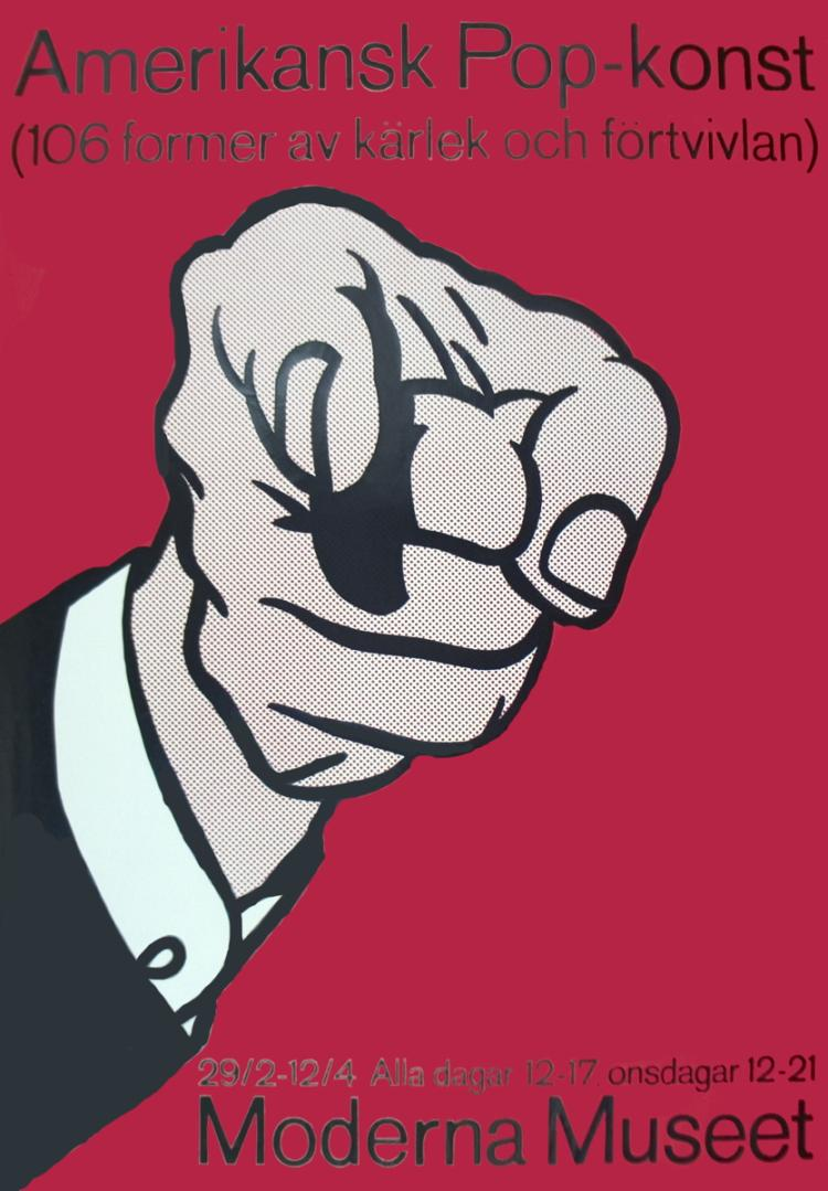 Roy Lichtenstein - Amerikansk Pop-Konst