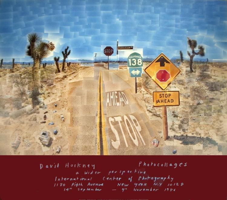 David Hockney - Pearblossom Highway - 1986