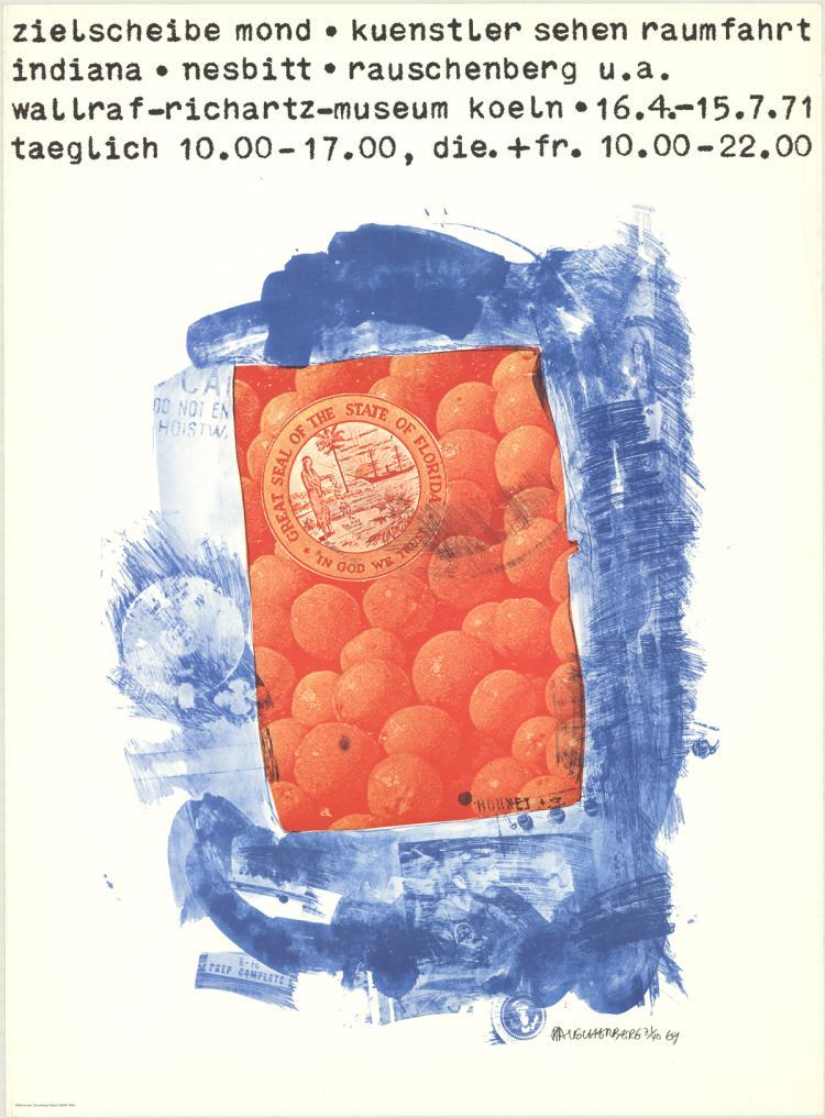 Robert Rauschenberg - Oranges - 1971