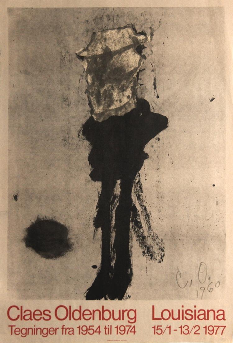 Claes Oldenburg - Street Figure - 1977