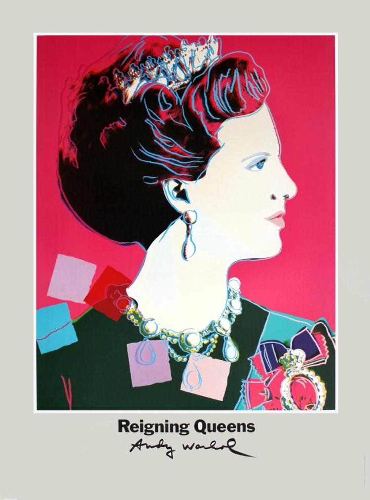 Andy Warhol - Queen Margrethe II of Denmark - 1986