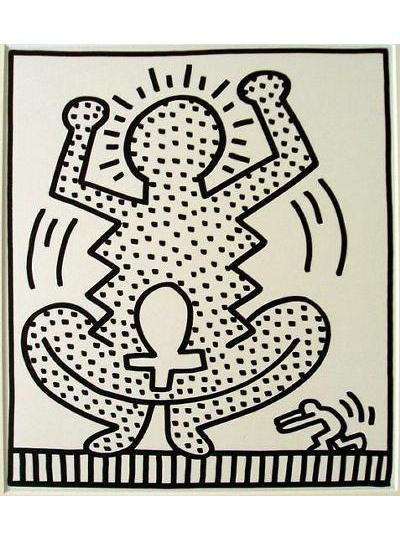 Keith Haring - May 10,1983-No. 8 - 1983