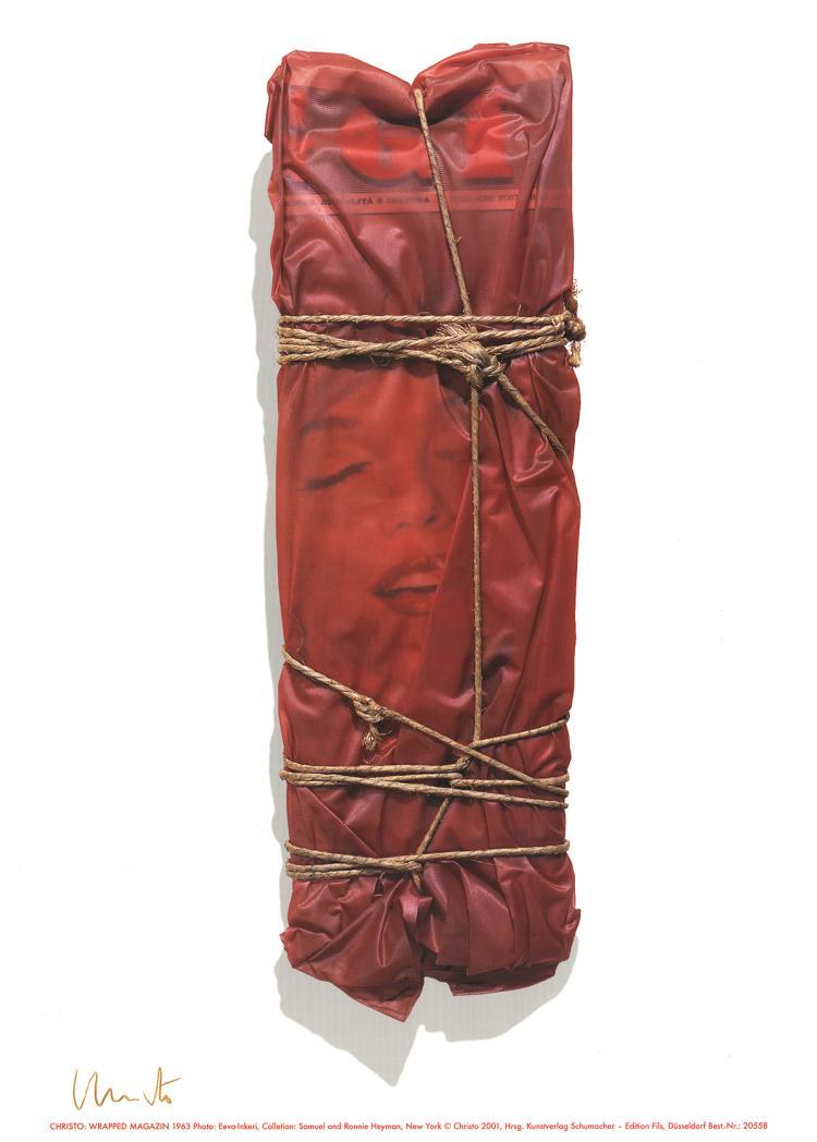 Javacheff Christo - Wrapped Magazine (1963) - 2001 - SIGNED