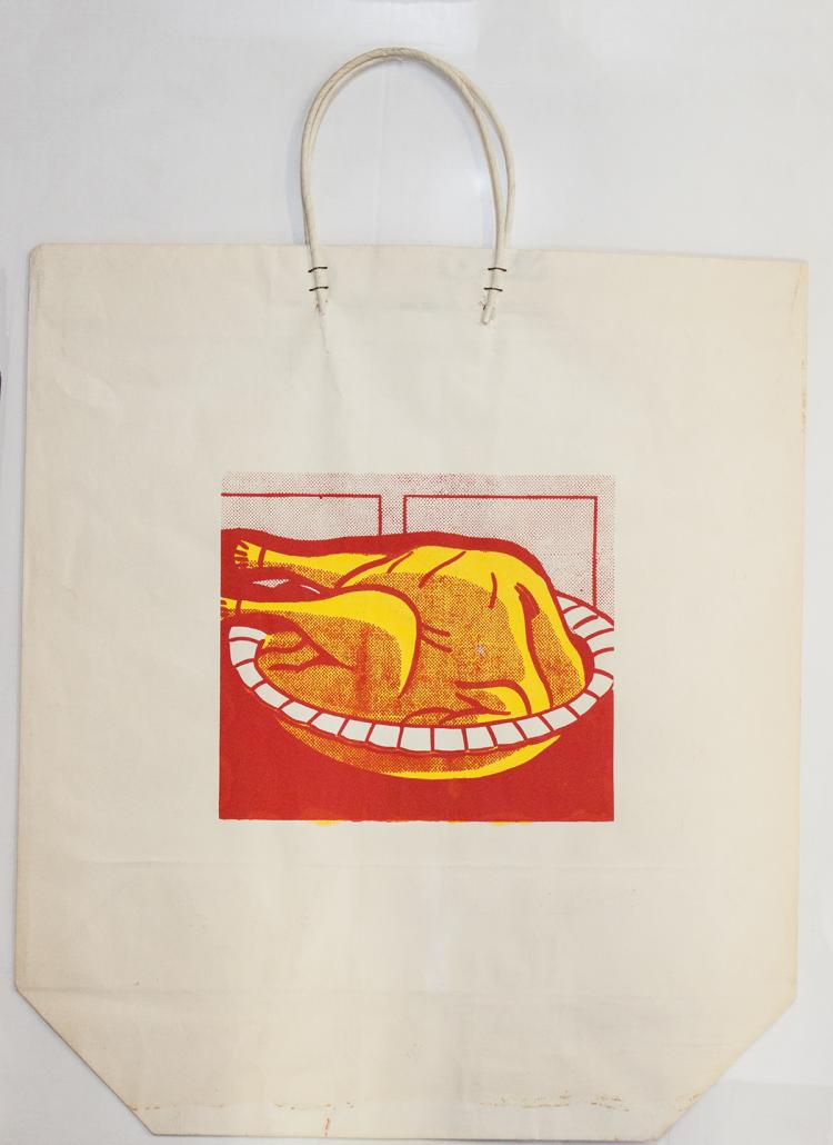 Roy Lichtenstein - Turkey Shopping Bag - 1964