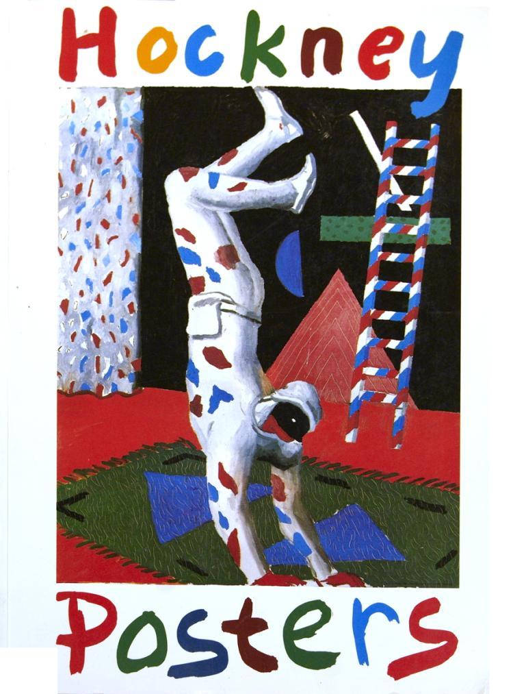 Hockney Posters - 1987