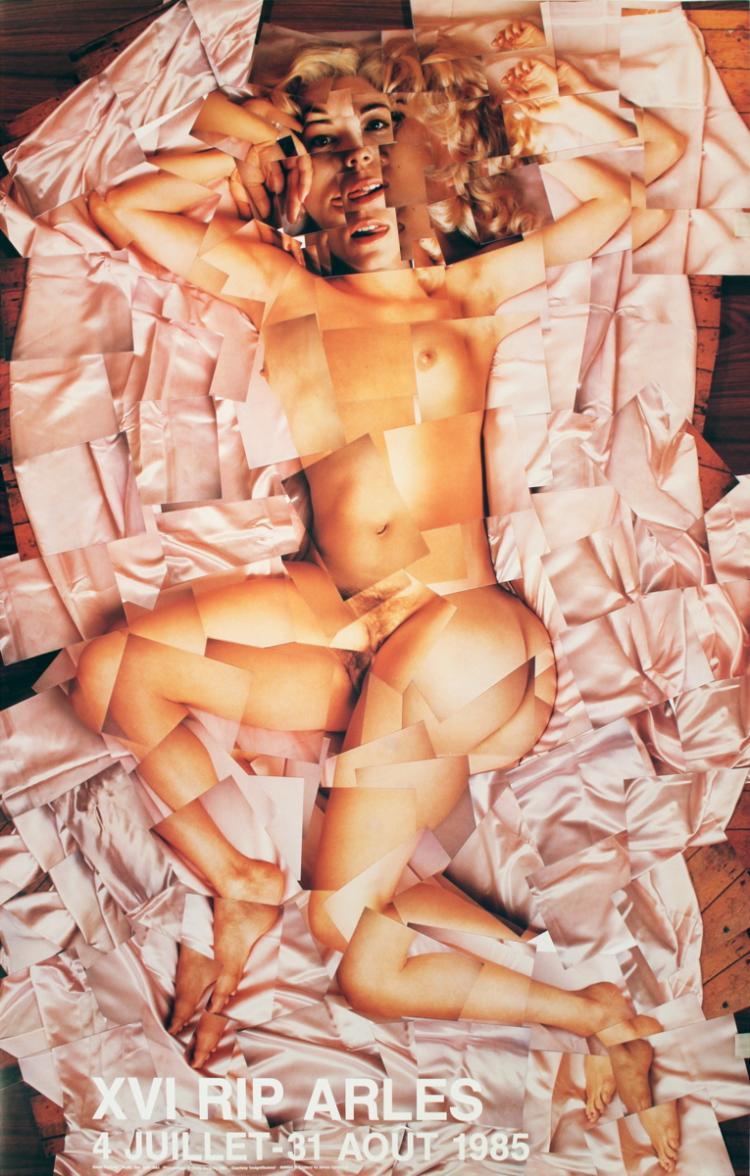 David Hockney - Nude - 1984