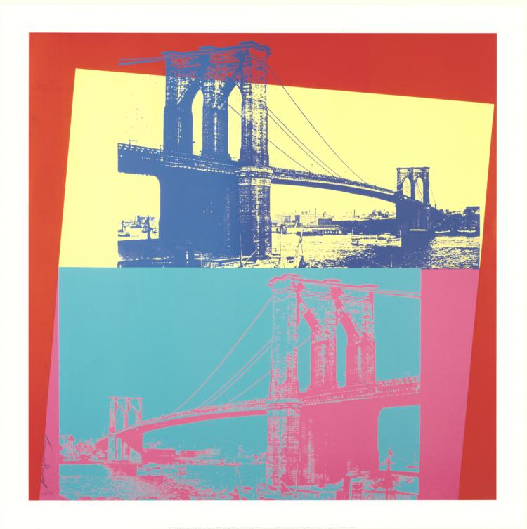 Andy Warhol - Brooklyn Bridge - 2014