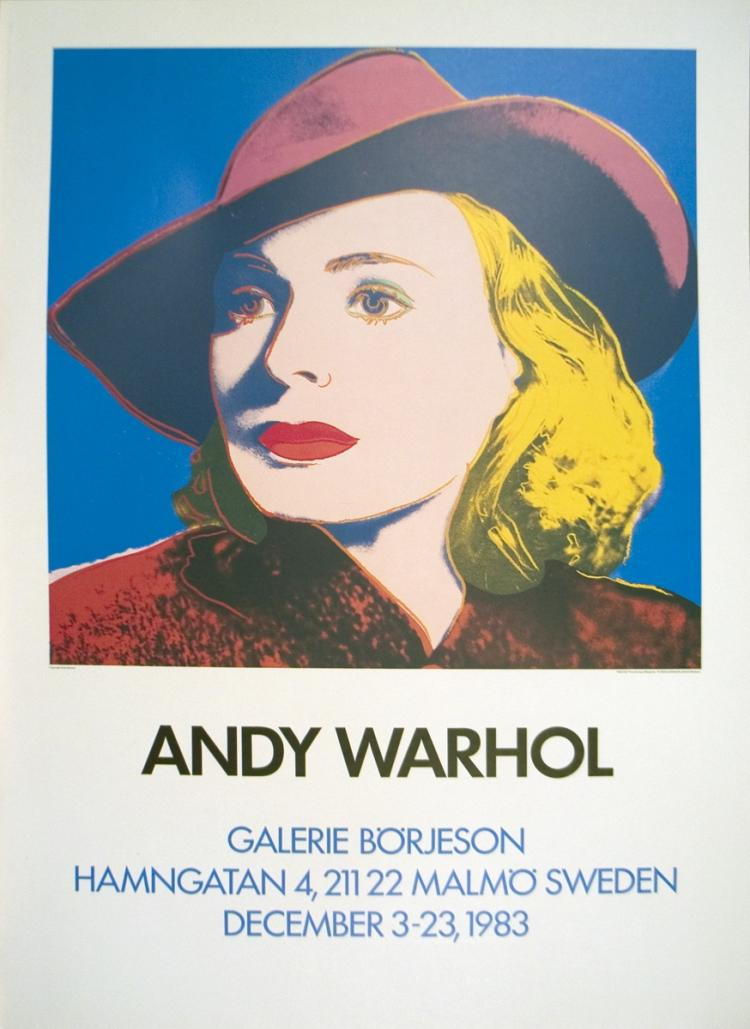 Andy Warhol - Ingrid with Hat - 1983