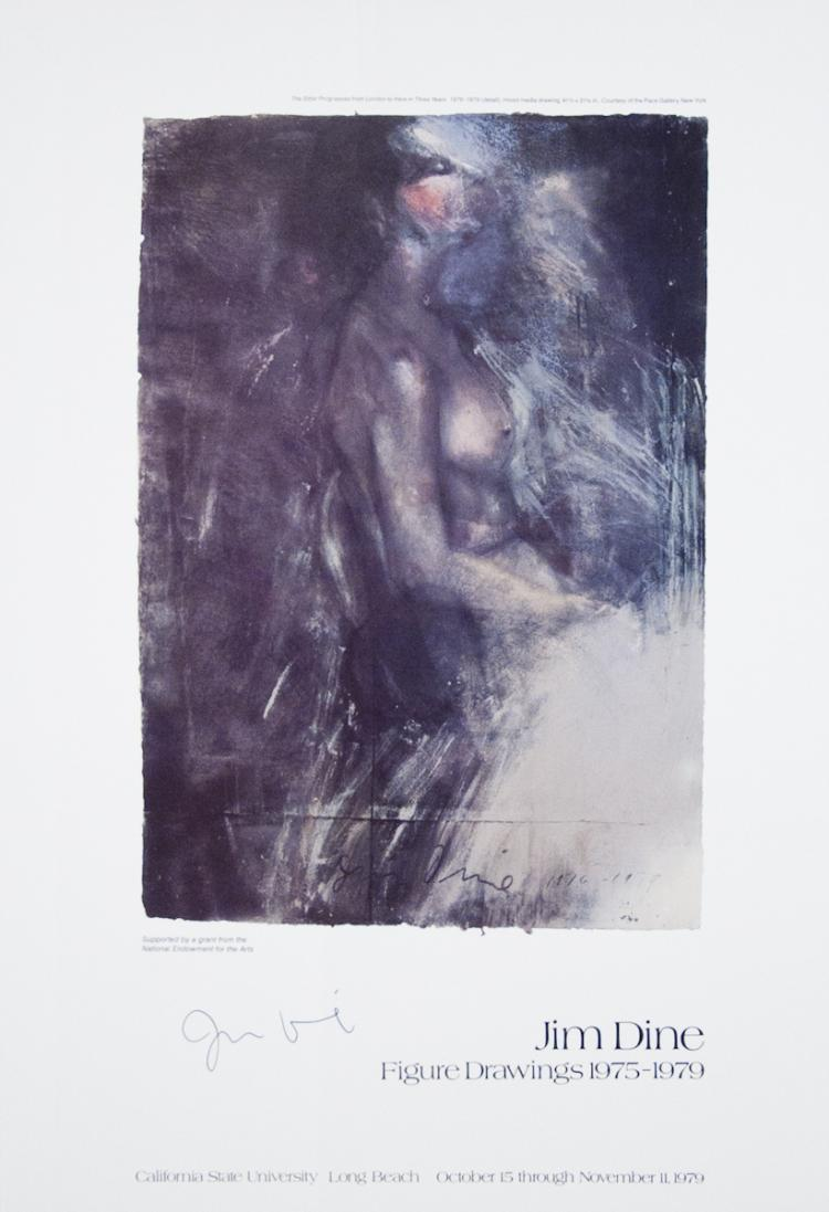 Jim Dine - The Sitter Progresses From London to Here in Three Years - 1979 - SIGNED