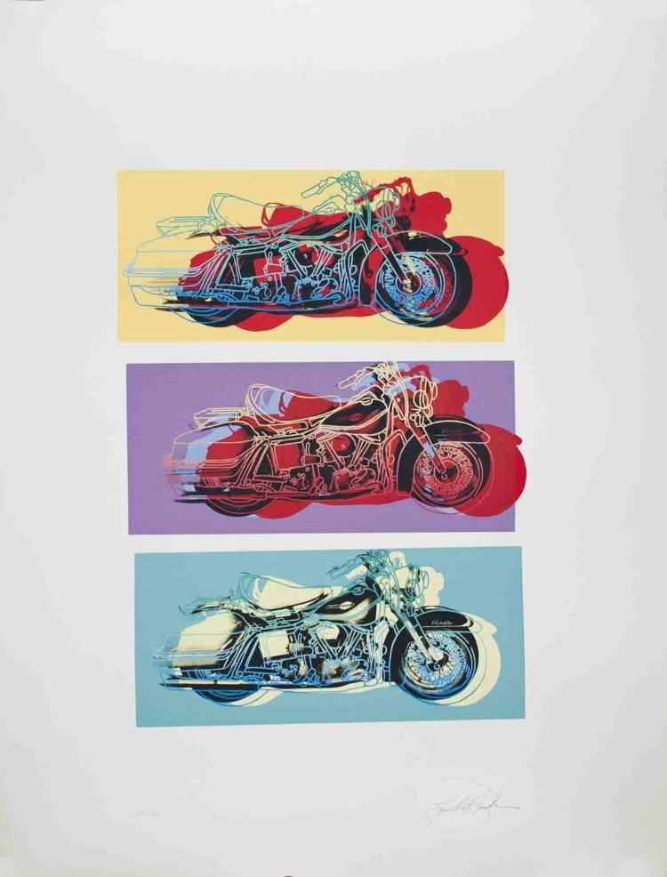 Friedbert Renbaum - Harley x 3 - 1994 - SIGNED
