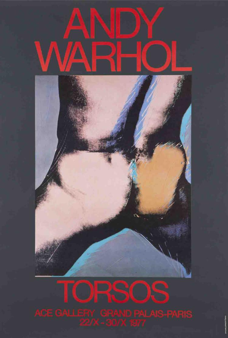 Andy Warhol - Torsos - 1977