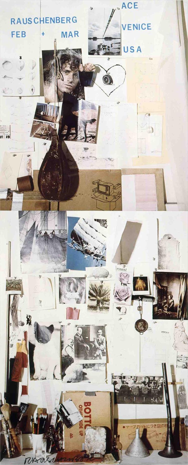 Robert Rauschenberg - Ace Gallery, Venice, California - 1978