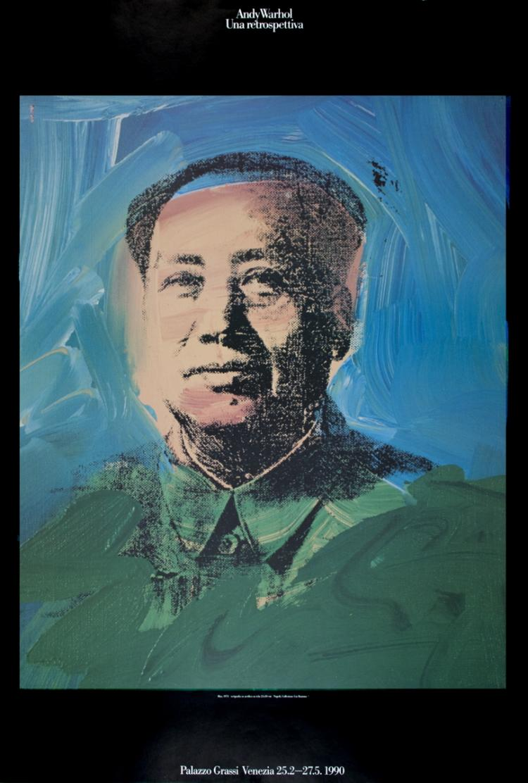Andy Warhol - Mao - 1990