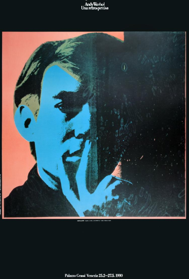 Andy Warhol - Self-Portrait - 1990