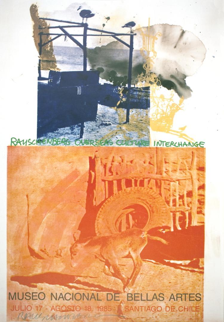 Robert Rauschenberg - ROCI: Chile - 1985 - SIGNED