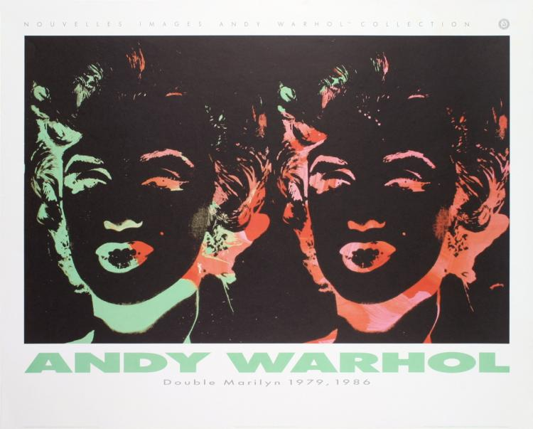 Andy Warhol - Double Marilyn (Reversal Series) - 1989