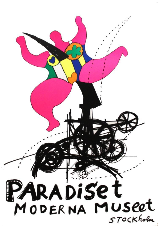 Niki de Saint Phalle - Paradise - 1987
