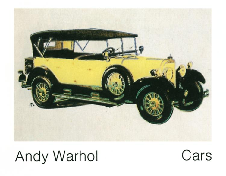 Andy Warhol - Mercedes Typ 400 (1925) - 1989