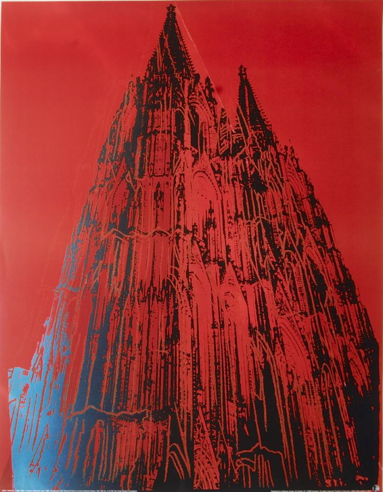 Andy Warhol - Koln Cathedral - 1985