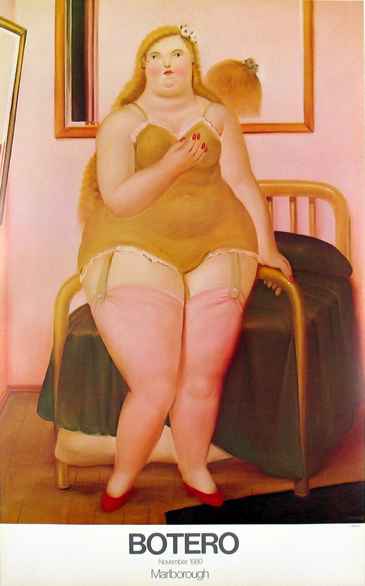 Fernando Botero - La Cama (Lg) - 1980