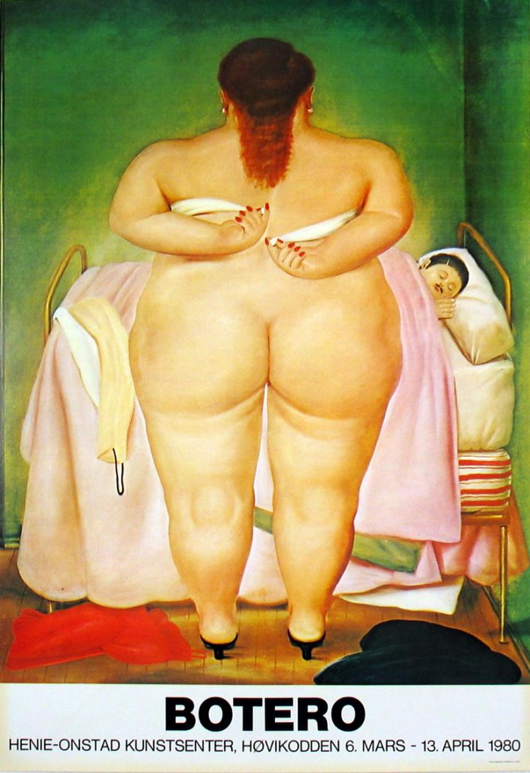 Fernando Botero - The Morning After - 1980