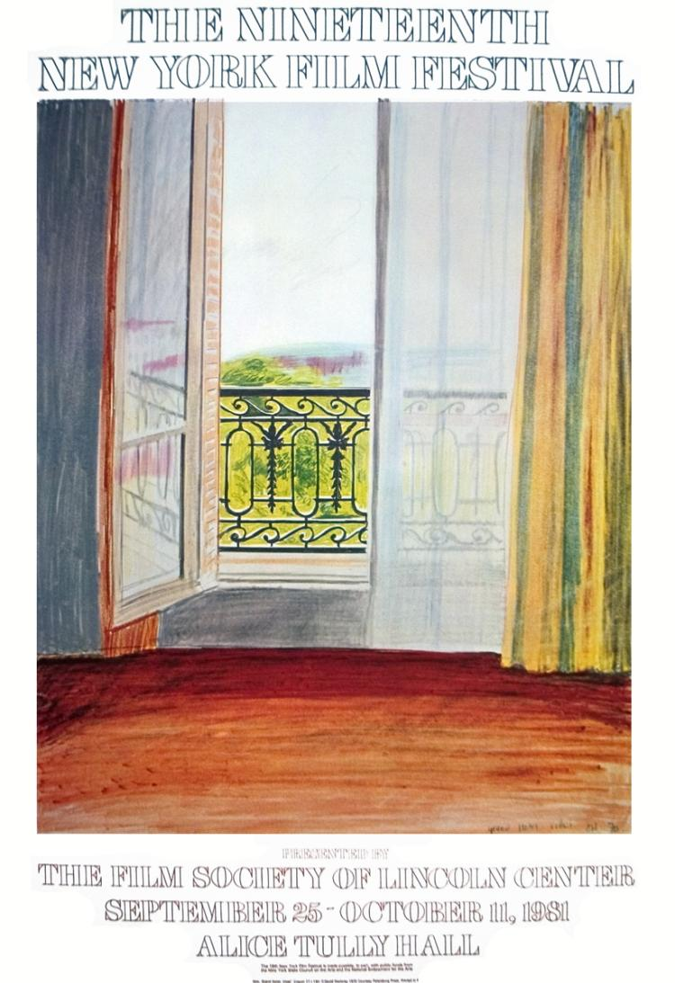David Hockney - Window, Grand Hotel, Vittel - 1981